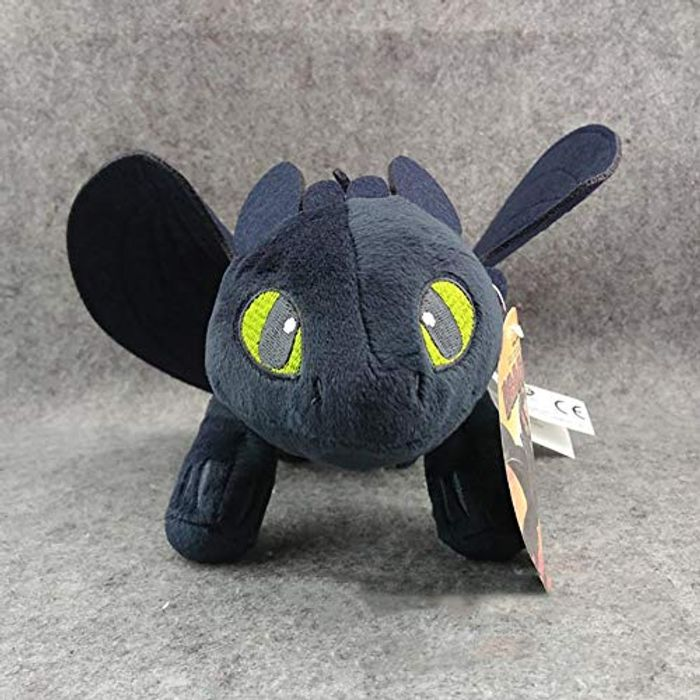 Naisidier 1pc How to Train Your Dragon Toothless Night Fury Plush Toy 23cm