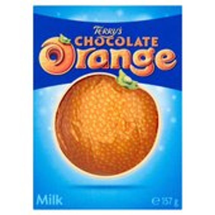 Terry's Chocolate Orange Milk 157g - HALF PRICE!