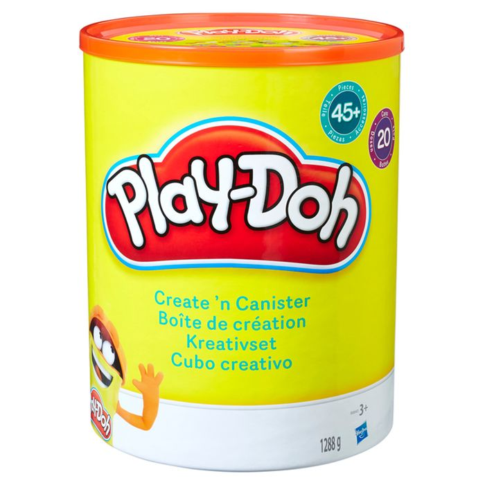 45 Piece Play Doh Create & Canister - Half Price!