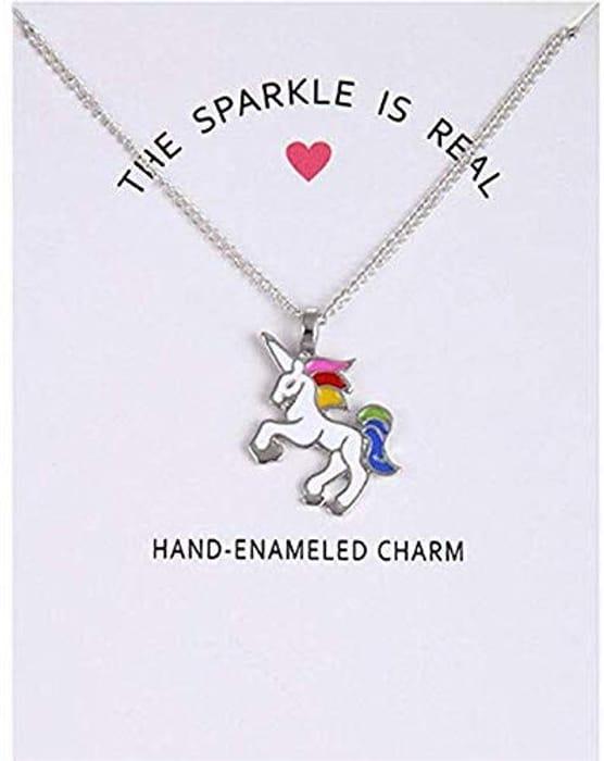 Sperrins Unicorn Pendant Necklace at Amazon