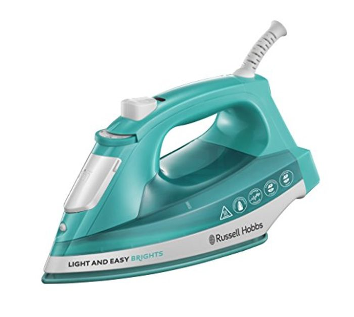 Cheap Russell Hobbs 24840 Light and Easy Bright Iron at Amazon, Only £13.48