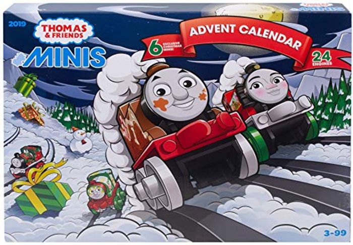 Thomas & Friends Advent Calendar 2019 with 24 MINIS!