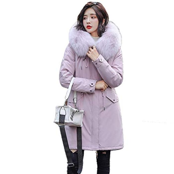 Cheap Women Hooded Coat Long Sleeve Drawstring Waist with 70% Discount