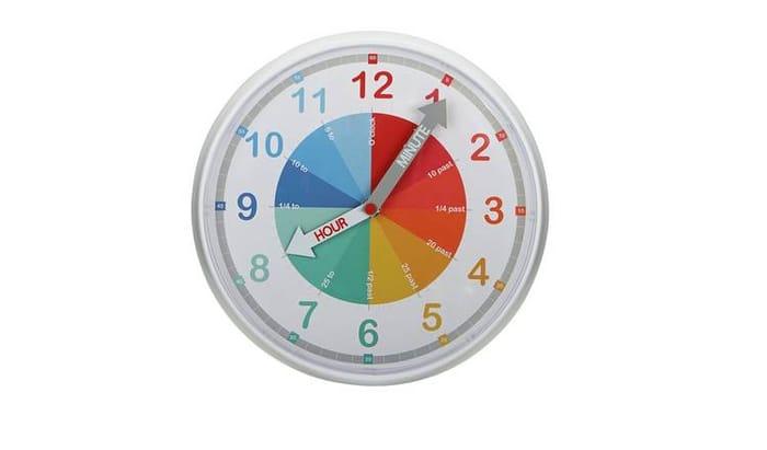 Argos Home Children's Wall Clock Only £6