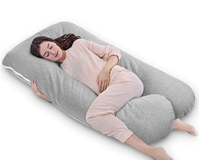 Pregnancy / Maternity Pillow with Replaceable and Washable Cover (150 X 80 Cm)