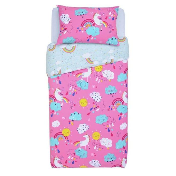 Argos Home Unicorn Bedding Set - Toddler - 28% Off!