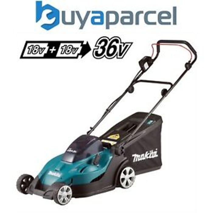 Makita DLM431Z Twin 18v / 36v LXT Cordless 43cm Lawn Mower Soft Start