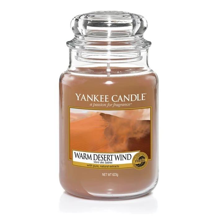 Half Price! Yankee Candle Large Jar Warm Desert Wind - Free Delivery