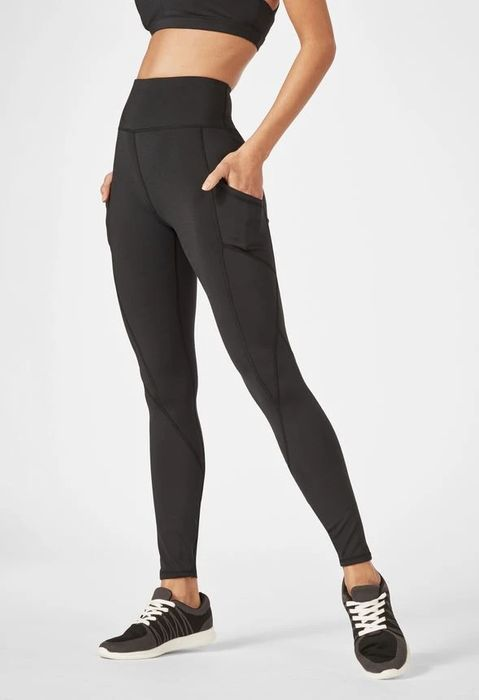 High Waisted Pocket Leggings at Justfab