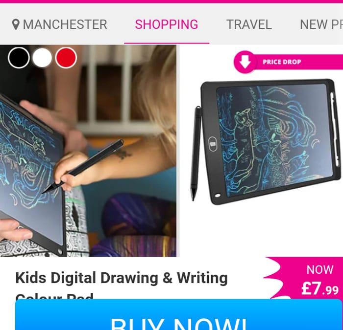 Digital Drawing and Writing Pad