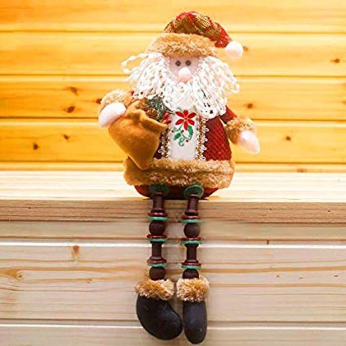 Sitting Santa Christmas Decoration