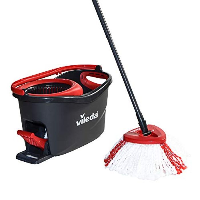 Price Drop! Vileda Turbo Microfibre Mop and Bucket Set