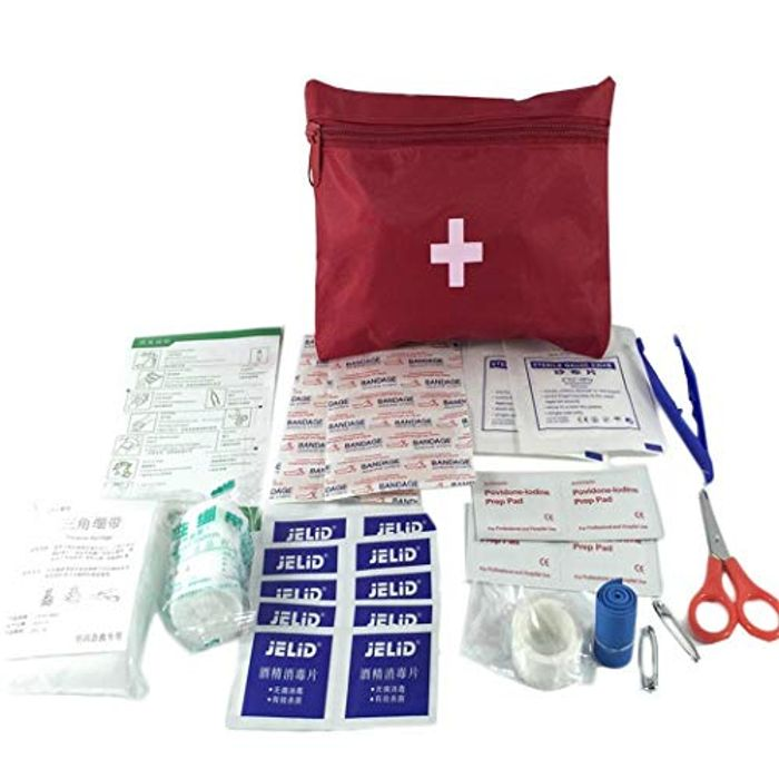 First Aid Treatment Bag 70% off + Free Delivery