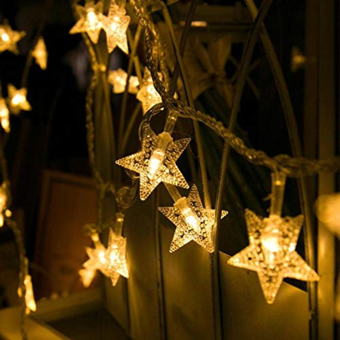 30 LED Colour Changing Star Lights