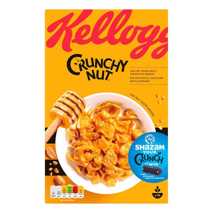 Kelloggs Crunchy Nut Cornflakes 500g - HALF PRICE!