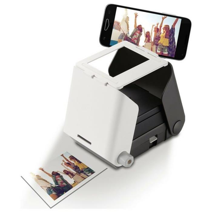 Tomy KiiPix Instant Photo Printer - Black