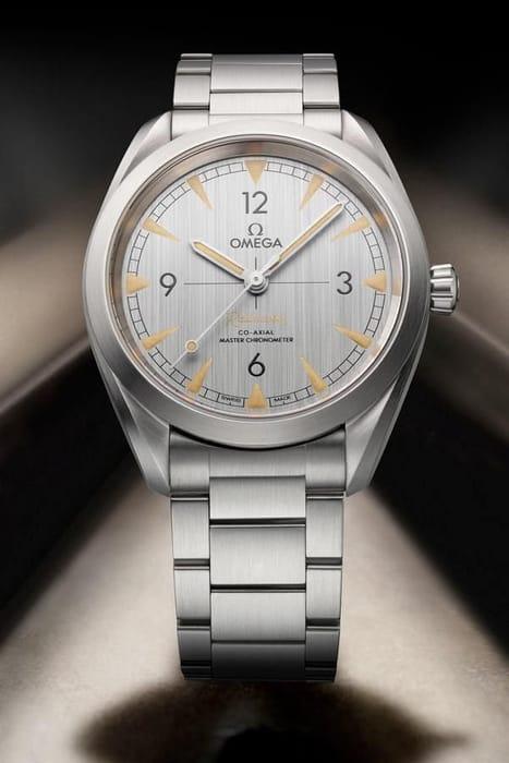 Omega Railmaster Men's Stainless Steel Bracelet Watch