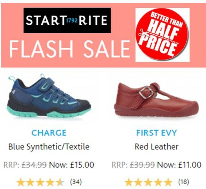 Start-Rite Shoes - FLASH SALE - BETTER than HALF PRICE DEALS!!