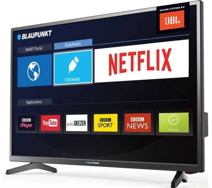 """*SAVE £50* BLAUPUNKT 32"""" Smart LED TV with Freeview HD +FREE 6 Month Spotify"""