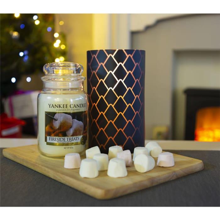 Best Price Fireside Treats Classic Signature 623g Jar & Teal Large Jar Holder