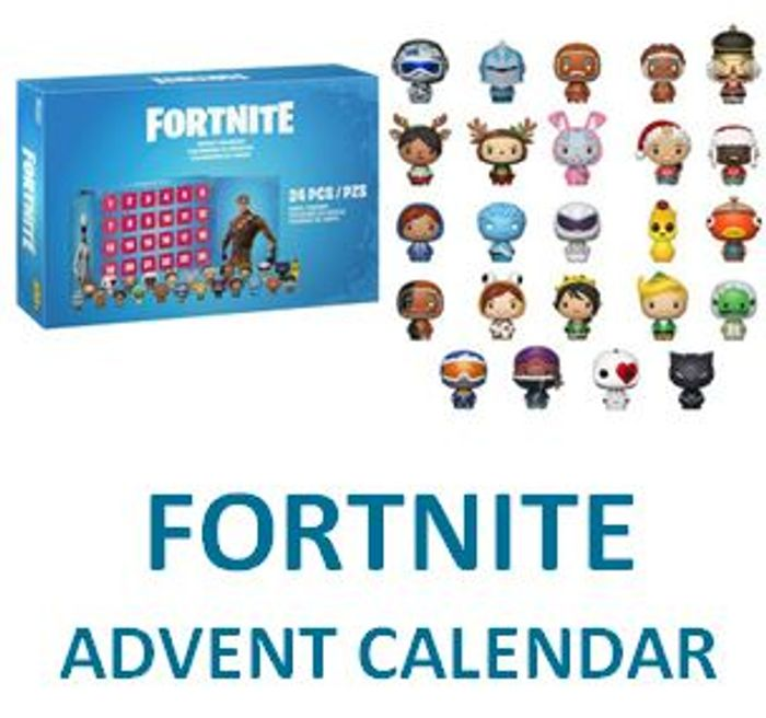 Fortnite Advent Calendar with 24 Vinyl Figures - 12% Off