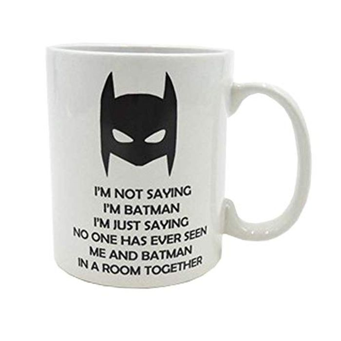 Funny Novelty Superhero Coffee Mug Down From £14 to £5.34
