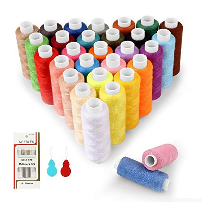 SOLEDI Sewing Thread 30 Colour 250 Yards Each Spool Sewing Kit - HALF PRICE!