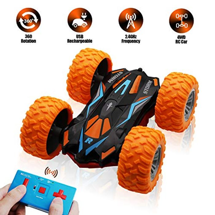 SYOSIN Remote Control Rotation Shunt Rc Car Toy - Save £5!