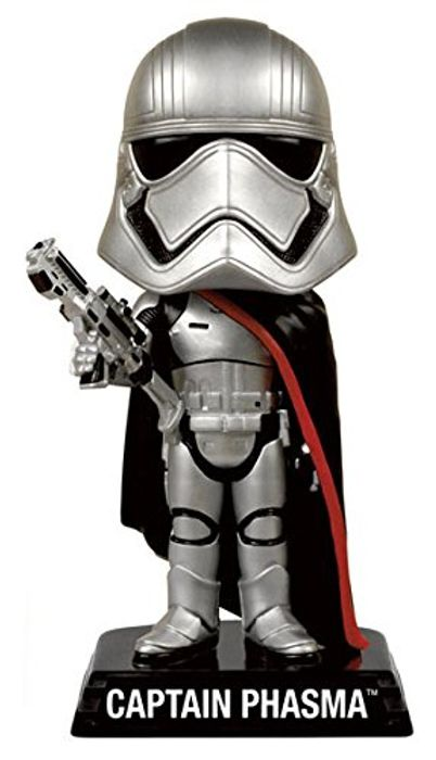 Star Wars: Captain Phasma Bobble Head Figure - 15cm (Add-On) HALF PRICE!