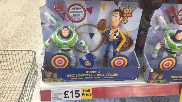Toy Story Woody and Buzz 2 Pack ( Instore and Online) - HALF PRICE!