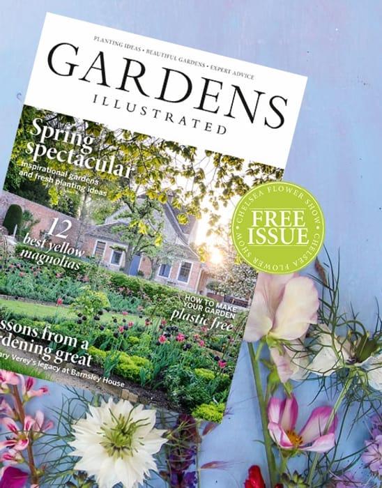 Free Copy of Gardens Illustrated Magazine