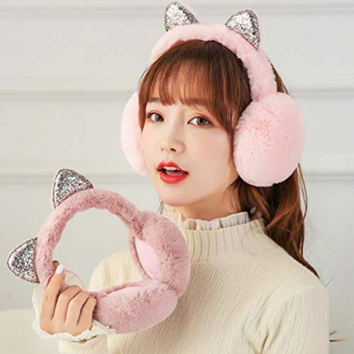Cat Ears Earmuffs 75% off + Free Delivery