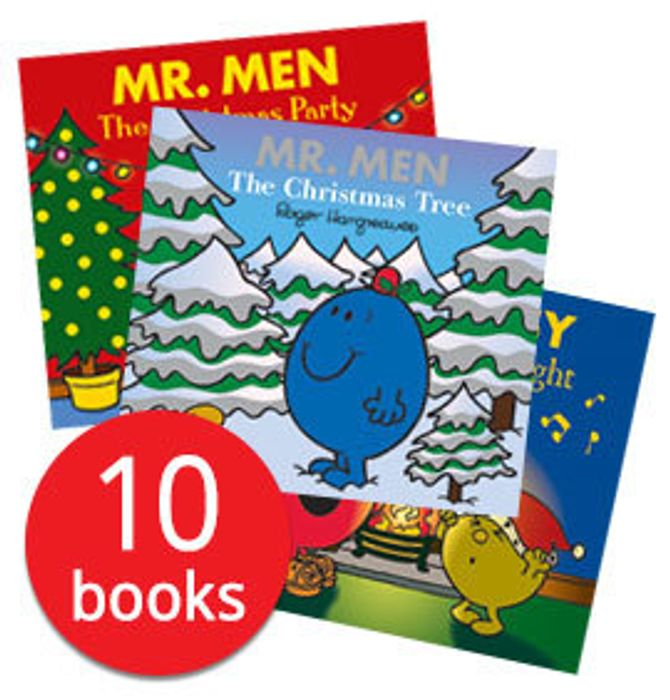 Mr. Men Christmas Collection - 10 Books