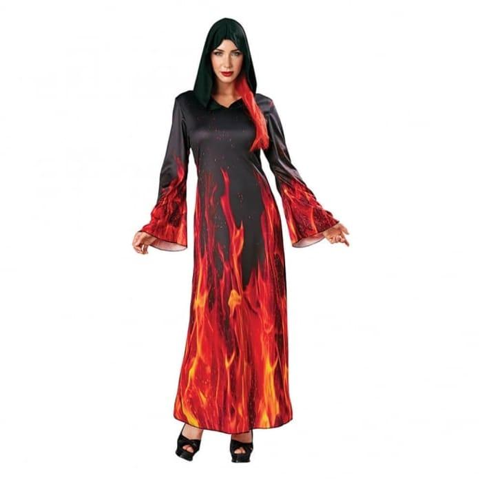 Fiery Sorceress Womens Costume
