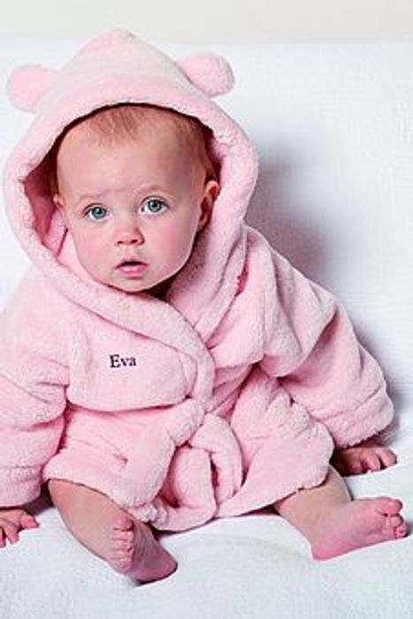 Personalised Baby Robe Down to £6.00