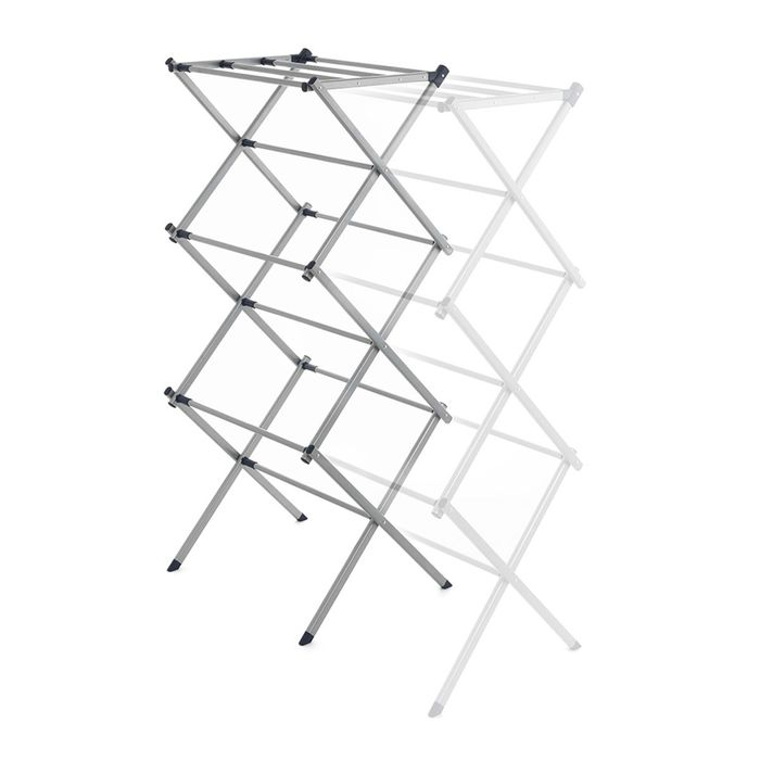 Addis Extendable 3-Tier Airer - Silver