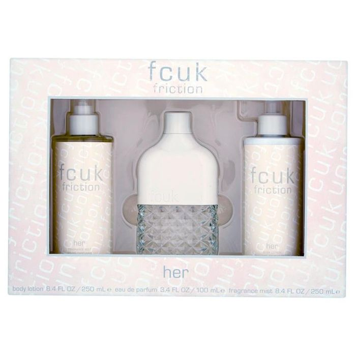 French Connection UK Friction Her Eau De Toilette 100ml Gift Set