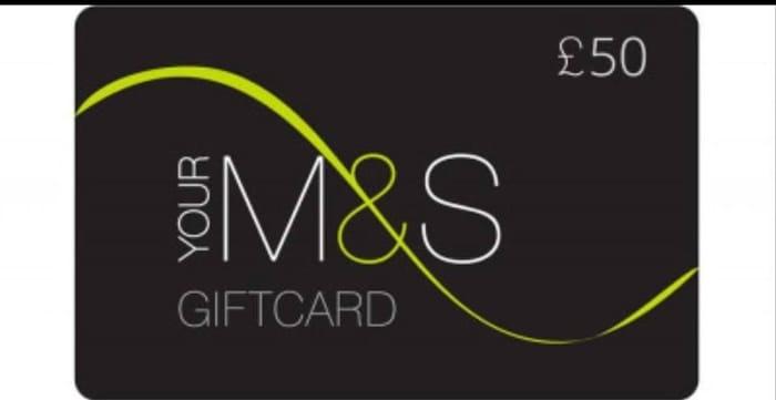 Win a £50 M&S Voucher!