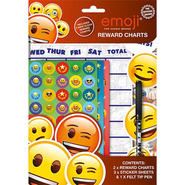 Emoji Reward Chart