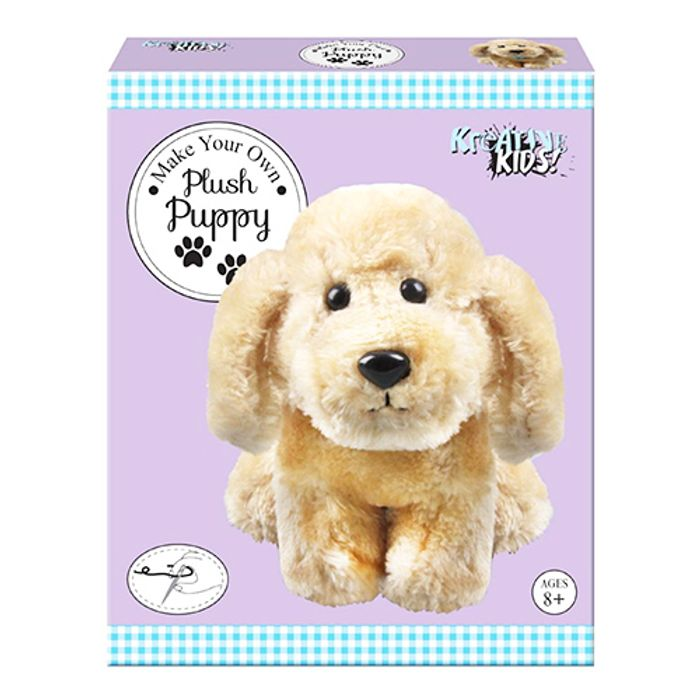 Make Your Own Plush Puppy