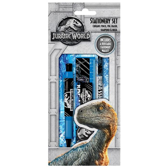 Cheap Jurassic World Stationery Set - Save £2.53!