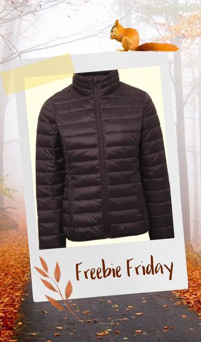 Win a Personalised Padded Jacket with 11 Colours to Pick From!