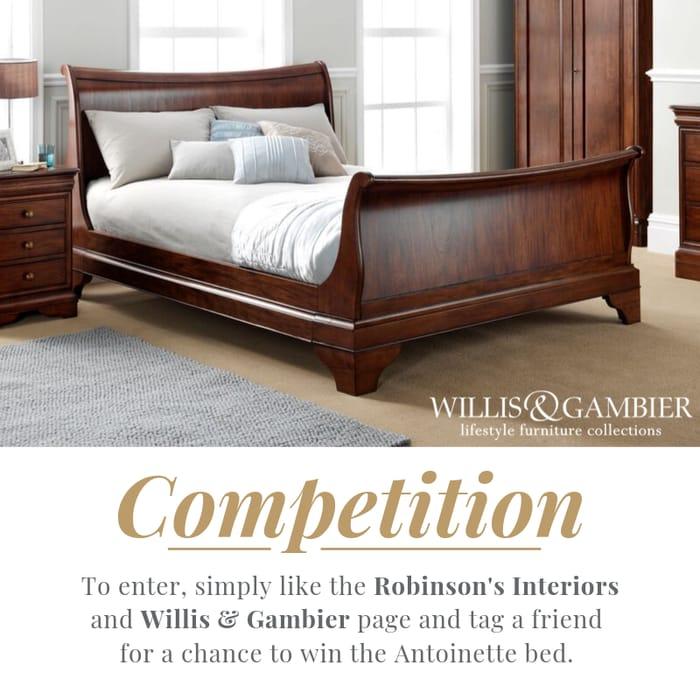 Win a Willis & Gambier Antoinette Bed!