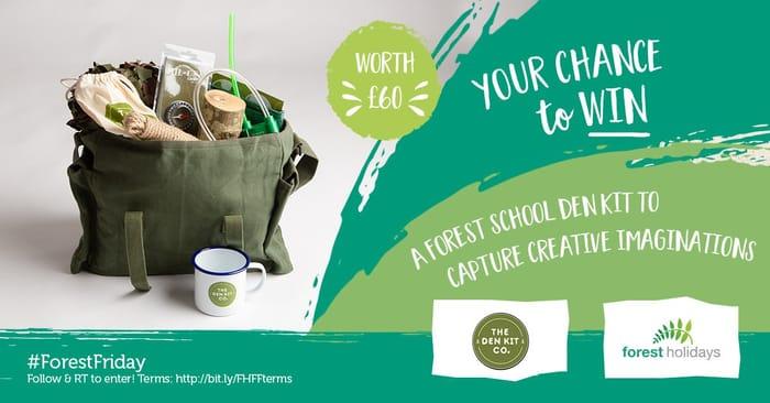 Win a Forest School Den Kit!
