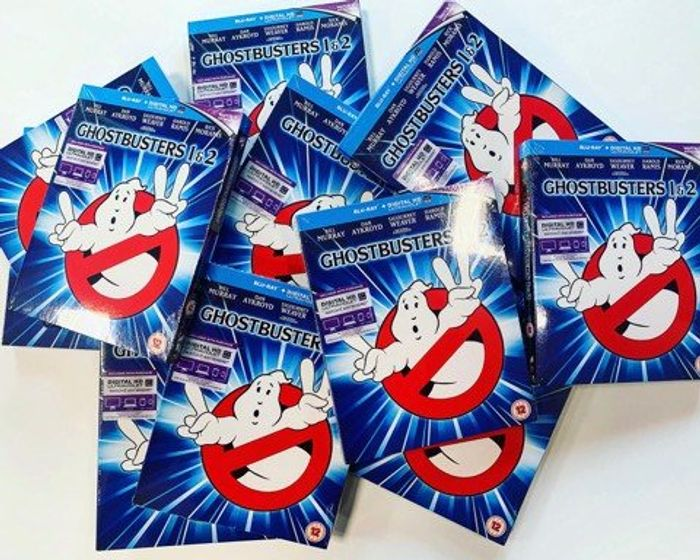 Win 1 of 10 Copies of Ghostbusters 1 and 2 Blu-Ray Pack!