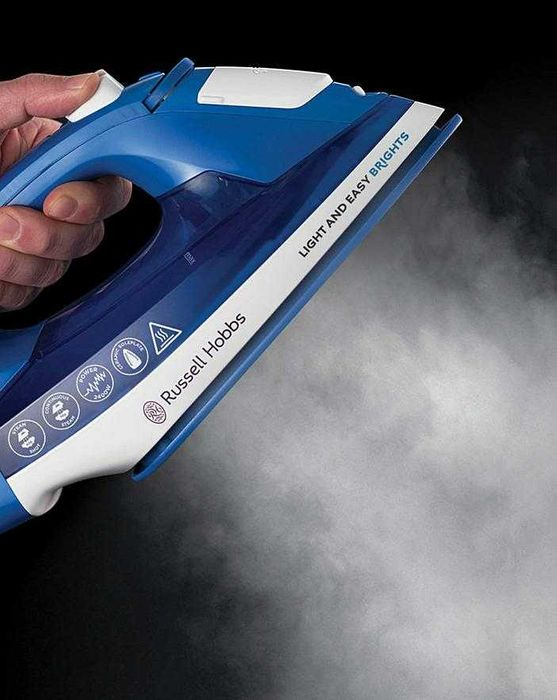 Best Price Russell Hobbs 24830 2400W Light and Easy Bright Sapphire Steam Iron
