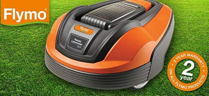 SAVE £200 - Flymo 1200 R Lithium-Ion Robotic Lawnmower