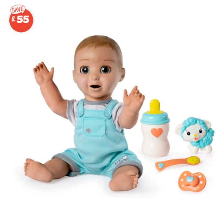 Luvabeau Interactive Doll - the Boy Luvabella Doll
