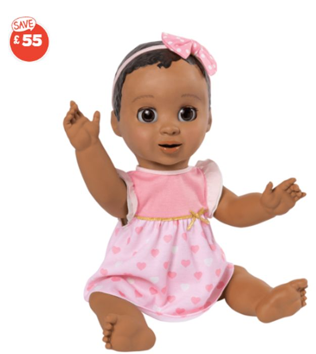 Cheap Luvabella Doll with Dark Brown Hair (Interactive) - Save £55