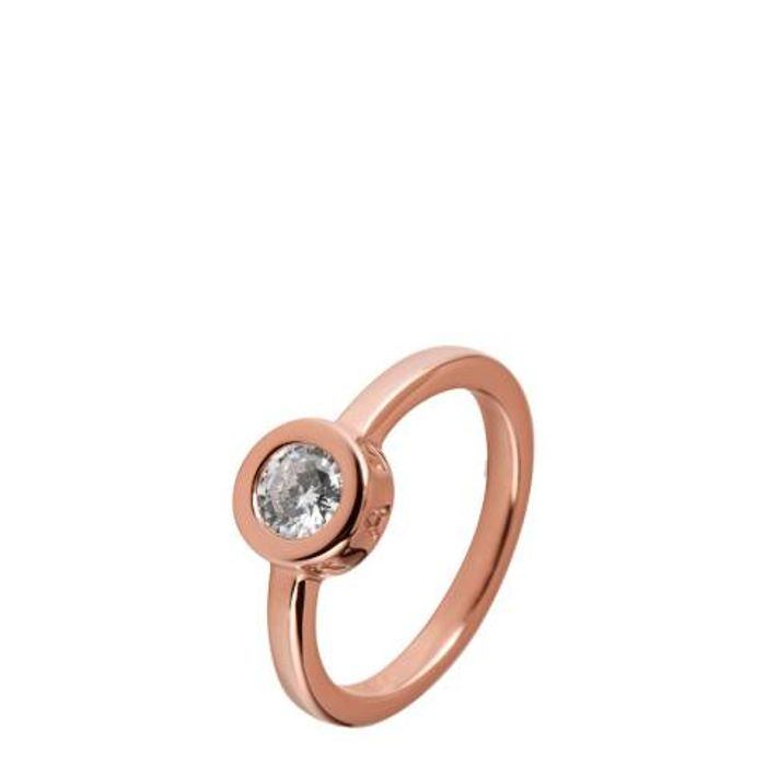 RADLEY Rose Gold Plated Fountain Road Ring